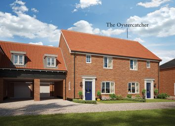Thumbnail 3 bed semi-detached house for sale in Church Hill, Saxmundham, Suffolk