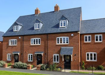 "Thumbnail 4 bed end terrace house for sale in ""Helmsley"" at Halse Road, Brackley"