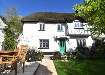 Thumbnail 3 bed cottage for sale in Brookside Cottages, Three Horseshoes, Cowley, Exeter