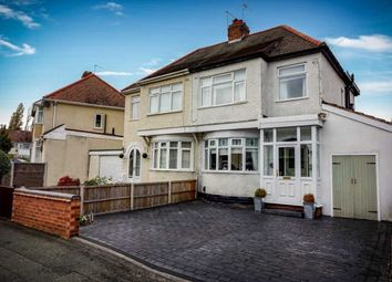 Thumbnail 3 bedroom semi-detached house for sale in Derby Avenue, Wolverhampton