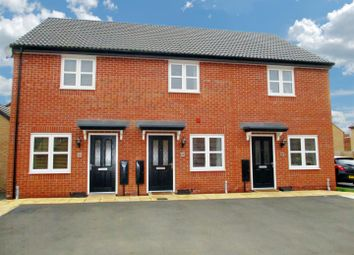 Thumbnail 2 bed town house for sale in Meteor Way, Whetstone, Leicester