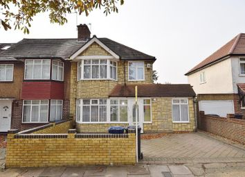 Thumbnail 4 bed semi-detached house to rent in Whitton Avenue East, Greenford, Middlesex
