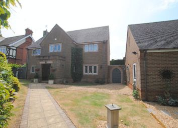 Thumbnail 5 bed detached house for sale in Rushden Road, Newton Bromswold, Rushden