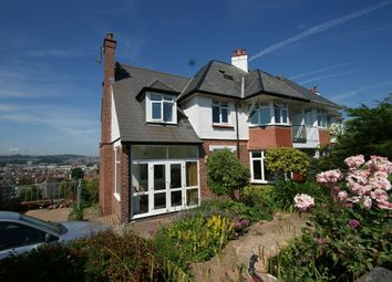 Thumbnail 5 bed semi-detached house for sale in Clennon Heights, Paignton