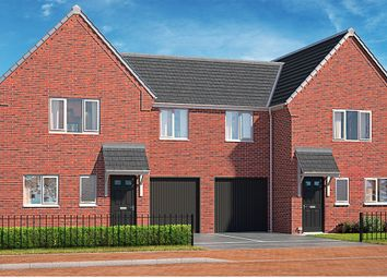 "Thumbnail 4 bed property for sale in ""The Alder"" at Brook Park East Road, Shirebrook, Mansfield"
