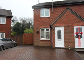 Thumbnail 2 bed semi-detached house to rent in Glas Fryn, Penpedairheol, Hengoed