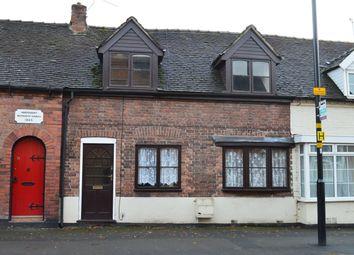 Thumbnail 1 bedroom terraced house to rent in Shropshire Street, Market Drayton