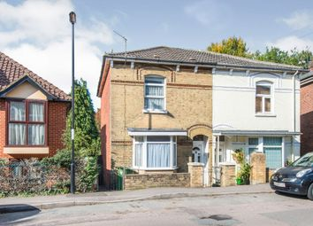 Thumbnail 2 bed semi-detached house for sale in Cawte Road, Shirley, Southampton