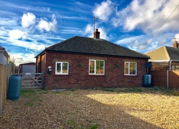 Thumbnail 2 bed detached bungalow for sale in Hall Road, Clenchwarton, King's Lynn