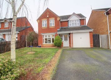 Thumbnail 4 bed detached house for sale in Shillingstone Drive, Nuneaton