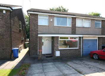 Thumbnail 3 bed semi-detached house to rent in Prestbury Avenue, Altrincham