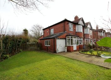 Thumbnail 3 bed semi-detached house for sale in Ashbourne Grove, Whitefield, Manchester