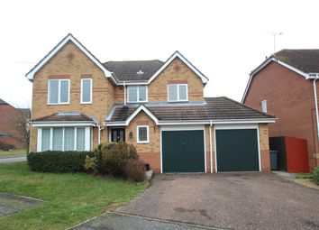 Thumbnail 4 bed detached house for sale in Kentwell Close, Rushmere St Andrew, Ipswich