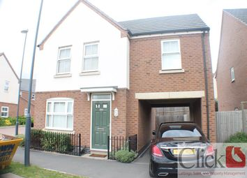 Thumbnail 3 bed detached house for sale in Queen Elizabeth Road, Nuneaton, Warwickshire