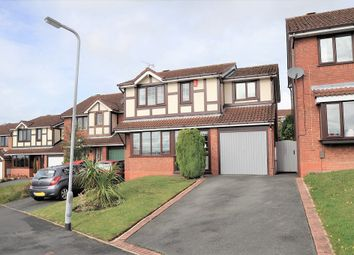 Thumbnail 4 bed detached house for sale in Meremore Drive, Waterhayes, Newcastle