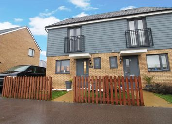 Thumbnail 2 bed semi-detached house for sale in Harris Way, Wootton, Bedford