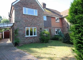Thumbnail 4 bed semi-detached house to rent in Pinewood Avenue, Sevenoaks
