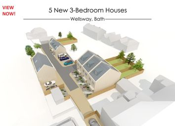 Thumbnail 3 bed terraced house for sale in Plot 2, The Fosseway, Wellsway, Bath, Somerset