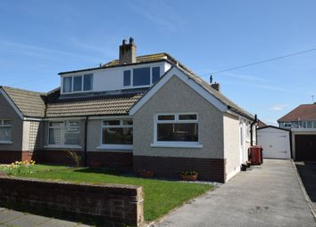 Thumbnail 3 bedroom semi-detached bungalow for sale in Cowlarns Road, Barrow-In-Furness