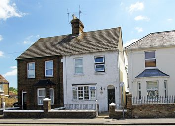 Thumbnail 3 bed semi-detached house for sale in Park Road, Sittingbourne, Kent