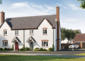 Thumbnail 3 bed semi-detached house for sale in The Ascott, Worlds End Lane, Weston Turville
