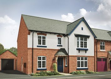 "Thumbnail 4 bed detached house for sale in ""The Darlington R"" at Grange Road, Hugglescote, Coalville"