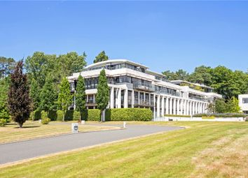 Thumbnail 3 bed flat for sale in Charters Court, Charters Road, Ascot, Berkshire