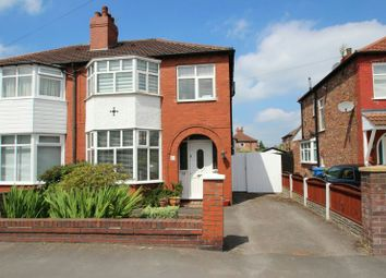 Thumbnail 3 bed semi-detached house for sale in Riddings Road, Timperley, Altrincham