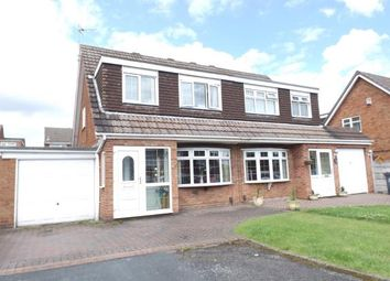 Thumbnail 3 bed semi-detached house for sale in Brockeridge Close, Willenhall, West Midlands