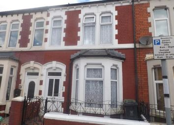 Thumbnail 3 bedroom terraced house for sale in Ferndale Street, Cardiff, Caerdydd