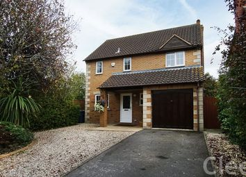 Thumbnail 3 bed detached house for sale in Kingsclere Drive, Bishops Cleeve, Cheltenham