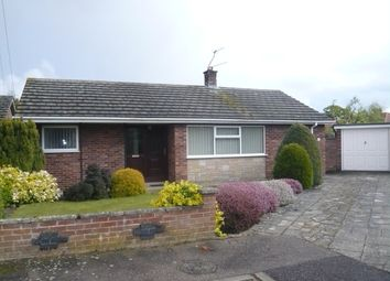 Thumbnail 3 bedroom detached bungalow for sale in Brandon Close, Hellesdon, Norwich