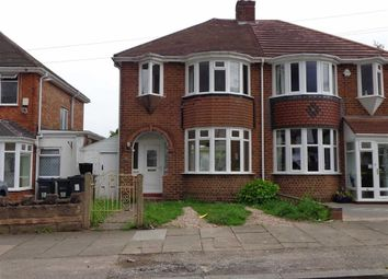 Thumbnail 3 bed semi-detached house for sale in Willclare Road, Sheldon, Birmingham
