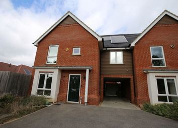 Thumbnail 4 bedroom end terrace house to rent in Poulter Croft, Milton Keynes