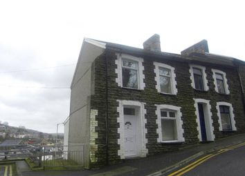 Thumbnail 3 bed end terrace house to rent in High Street, Porth