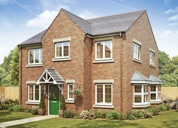 Thumbnail 4 bed detached house for sale in Hutton Road, Cranswick, Driffield