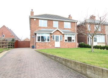 Thumbnail 4 bed detached house for sale in Church Lane, Holton-Le-Clay, Grimsby