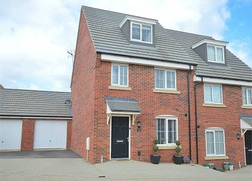 Thumbnail 3 bedroom semi-detached house for sale in Drake Way, Dragonfly Meadows, Northampton
