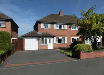 Thumbnail 3 bed property for sale in Loxley Avenue, Shirley, Solihull