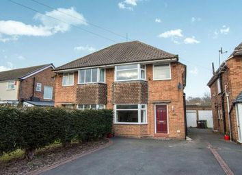 Thumbnail 3 bedroom semi-detached house for sale in Yardley Wood Road, Shirley, Solihull, West Midlands