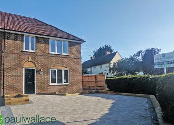 Thumbnail 3 bedroom end terrace house for sale in Station Road, Watton At Stone, Hertford