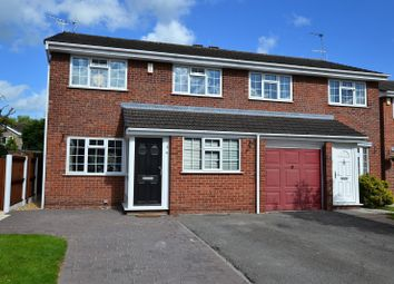 Thumbnail 4 bed semi-detached house for sale in Gleneagles Drive, Holmes Chapel, Crewe