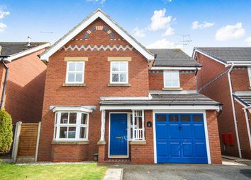 Thumbnail 4 bed detached house for sale in Cholmondeley Rise, Bickley, Malpas