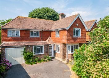 Thumbnail 4 bed detached house for sale in Downsview Road, Seaford