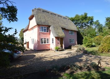 Thumbnail 4 bed cottage for sale in The Green, Weston Colville, Cambridge