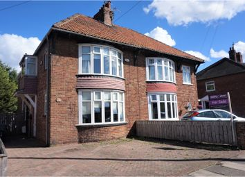 Thumbnail 4 bedroom semi-detached house for sale in The Avenue, Linthorpe, Middlesbrough