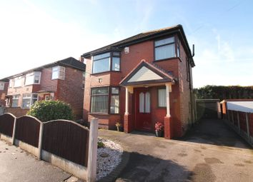 Thumbnail 3 bed detached house for sale in Mount Drive, Urmston, Manchester