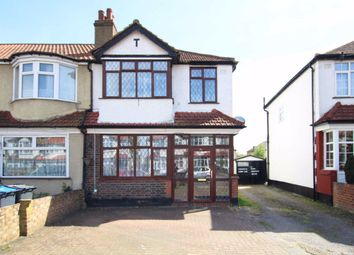 Thumbnail 3 bedroom semi-detached house to rent in Cranborne Avenue, Tolworth, Surbiton