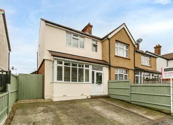Thumbnail 3 bed end terrace house for sale in Gander Green Lane, Sutton, Surrey