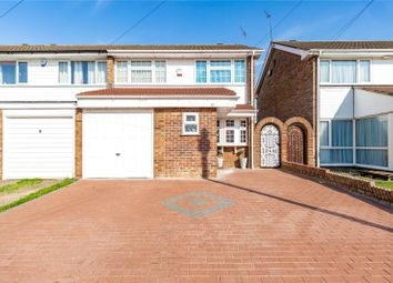 Thumbnail 3 bed semi-detached house for sale in West Malling Way, Hornchurch